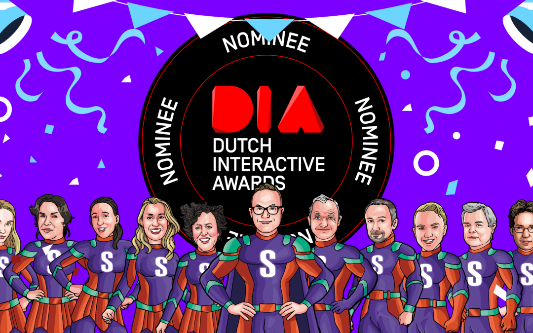 Nominatie Dutch Interactive Awards 2021